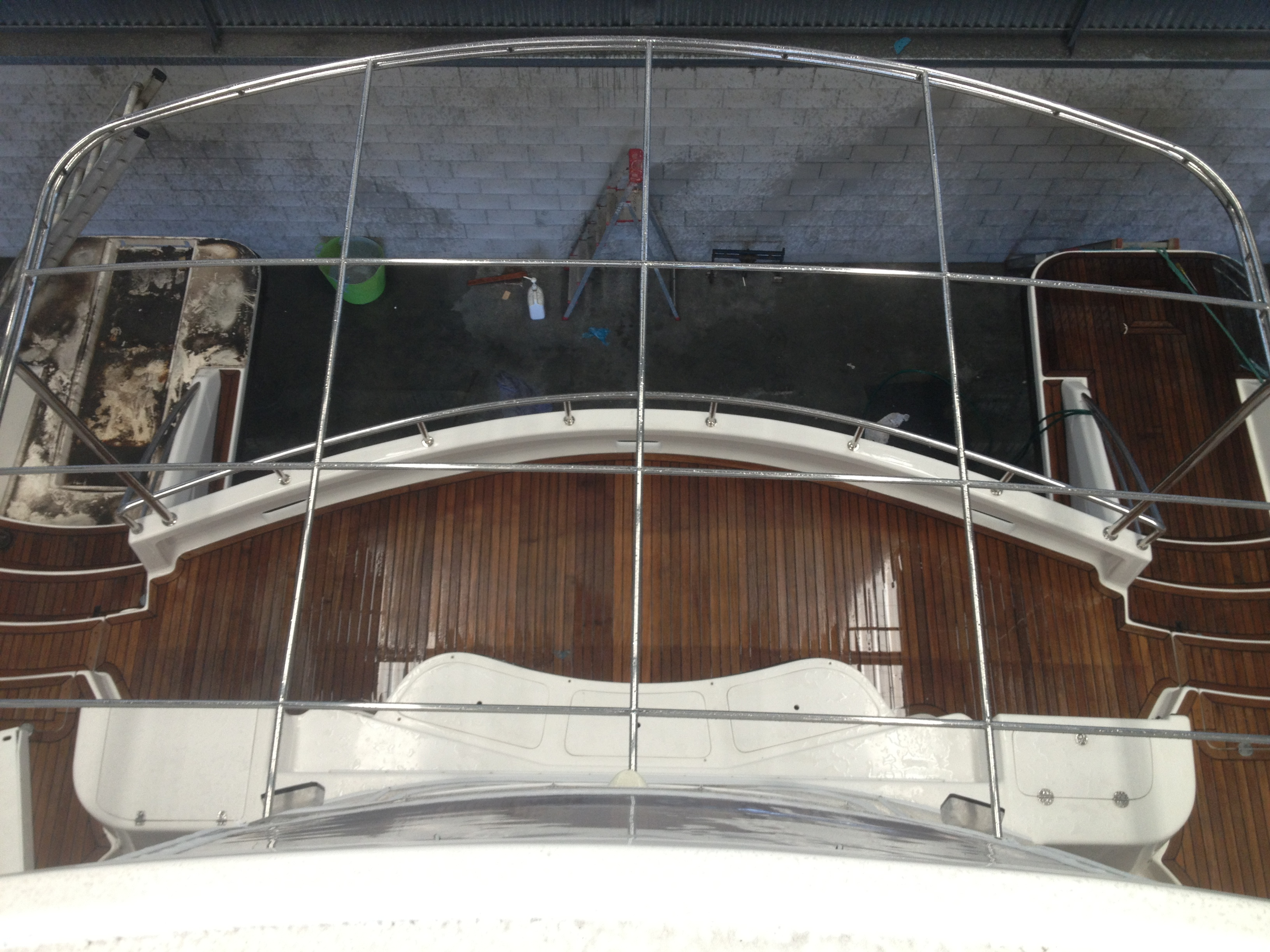 New How To Build A Boat Awning Built